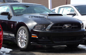 2013 2014 Hood Scoop For Ford Mustang Boss Gt Style Mrhoodscoop Unpainted Hs005