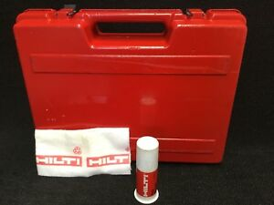 Hilti Te 22 tool Case Only Preowned Strong Original Fast Shipping