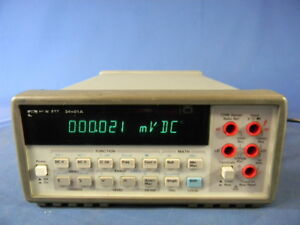 Agilent 34401a 6 5 Digit Multimeter