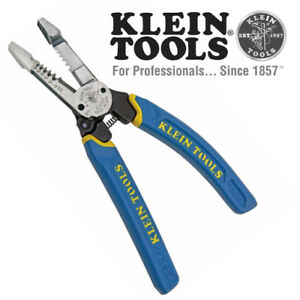 Klein Tools K12055 Heavy Duty Wire Stripper 12 20 Awg Stranded 10 18 Awg Solid