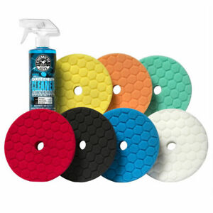 Chemical Guys Bufx700 Hex logic Quantum 5 5 Best Buffing Pads Everything Kit