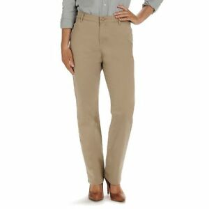 Lee All Day Pant Relaxed Fit Straight Leg PT Black Blue Tan Brown MSRP $48 $15.80