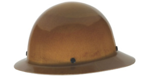 Msa Skullgard Fiber Glass Fb Hard Hat With Ratchet Or Pin Lock Susp Natural Tan