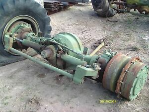 Steer Axle Assembly For Military Pettibone Rt Forklift Model Rtl10 10 000 Lbs