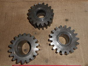 3 Planetary spur Gears P n F8454 2 For Military Pettibone Rt Forklift Rtl10