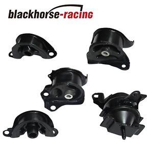 New 5pcs Engine Motor Trans Mount Set Fits For 1996 2000 Honda Civic 1 6l