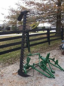 Used 6 Ft John Deere 9 Sickle Mower 3 Point We Ship Real Cheap