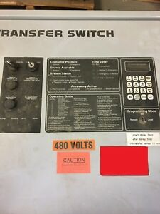 Generator Automatic Transfer Switch 400 Amp Spectrum Detroit Diesel