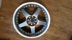 Four18 Car Rims Rs5 Lenso Fit 4 100 And 8 Bolt Patterns 400