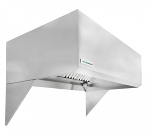 Hoodmart 14 X 48 Type 1 Commercial Kitchen Exhaust Hood Restaurant Hood