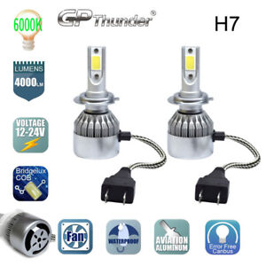 2018 New H7 Led Car Headlight Kit Bulb 6000k Replacement Hid Xenon