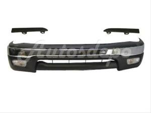 For 2001 2004 Tacoma Prerunner Front Bumper Chrome Filler Valance Filler 7pcs