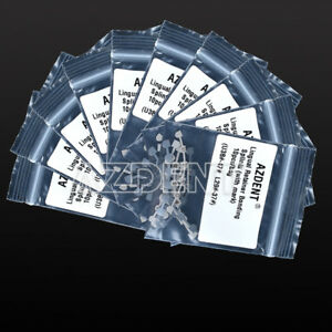 10 X Azdent Dental Orthodontic Lingual Retainer Splits Marked Wire Mesh Backing