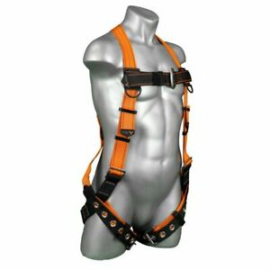 Warthog 5 point Customizable Full Body Harness With Tb D ring Fall Indicator