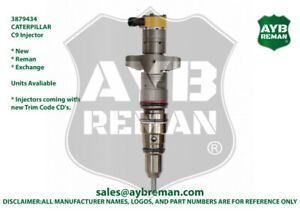 3879434 Diesel Injector For Caterpillar D6r C9 Engines