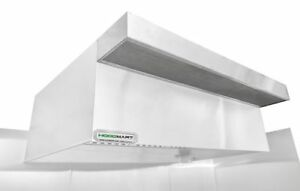 Hoodmart 18 X 48 Psp Perf Supply Plenum Makeup Air Commercial Kitchen Hood