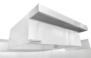 Hoodmart 19 X 48 Psp Perf Supply Plenum Makeup Air Commercial Kitchen Hood