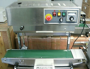 Fr 900 Stainless Steel Dual Mode Vertical Horizontal Bag Sealer From Pa Usa