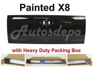 Painted X8 Black Clear Tailgate For 2002 08 Dodge Ram 1500 03 09 Ram 2500 3500
