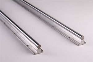 2pcs Fully Supported Shaft Rod Sbr20 800 Dia 20mm Linear Rail