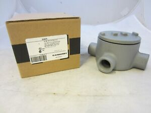 Oz gedney Guax75 3 4 Explosion Proof Type Gua Outlet Box Grx75 Guax26