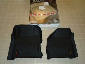 New Floor Liner Weathertech 441251 1st Row Ford Super Duty Truck W Shifter