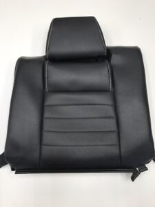 2012 Ford Mustang Gt Coupe Leather Rear Seat Top Skin Black Rh 2010 2014