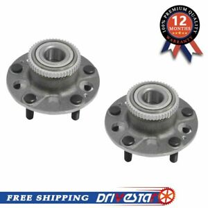 Pair 2 New Rear Left And Right Wheel Hub Bearings For Acura Integra Type R