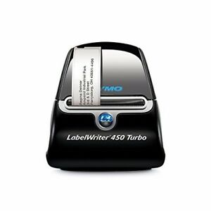 New Dymo Labelwriter 450 Turbo Thermal Label Printer 1750283 Free Shipping