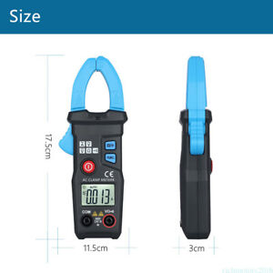 Digital Auto Range Clamp Multimeter Ampere Voltage Ohm Meter High Quality