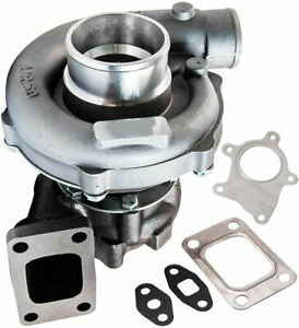 T3 t4 To4e 63a r Journal Turbo Charger Universal Upgrade 4 Bolt Inlet 5 Bolt Dp