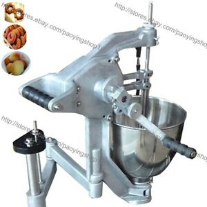 3 mold 7 5l Manual Doughnut Donut Ball Maker Machine