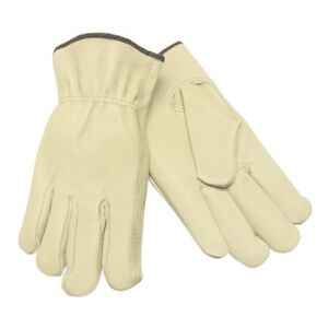 12 Pairs Memphis Grain Pigskin Leather Driver Work Gloves