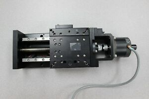 Industrial Devices Co Motorized Linear Slide Stage Pt asi038 With Motor 120mm
