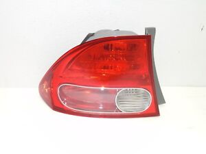 2006 2007 2008 2009 2010 2011 Honda Civic Sedan Oem Left Driver Tail Light
