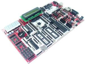 All in one Development Board For Avr 8051 Pic Arm Arduino