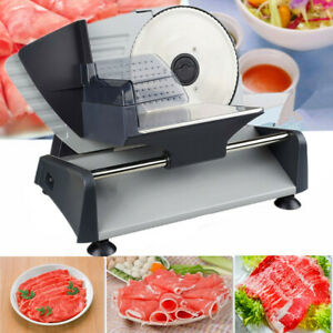 Electric Meat Slicer Deli Cheese Cutter Food Slicer Stainless Steel 220v Eu Plug