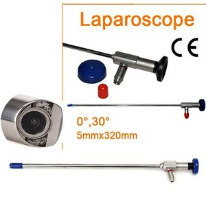 Accurate Endoscope Laparoscope 5x305mm Connector Fit Storz Wolf Laparoscopy 30