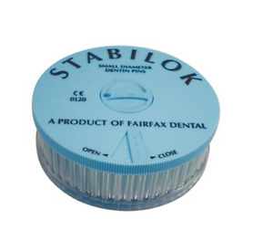 Stabilok Dentin Pins Economy Kit Blue Stainless Steel Eb 100 Pins
