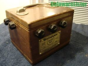 vintage Westinghouse Co Auxiliary Relay 100 Volts Dc
