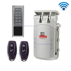 Wireless Smart Door Lock Electric Home Anti theft Lock Security Lock With Keypad