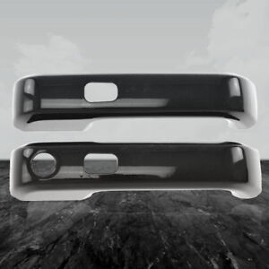 Gloss Black Handle Cover Kit Fits 15 17 Ford F 150 2 Door W Smart Key Abs 2pc