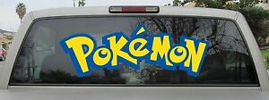 Pokemon Logo Vinyl Decal You Choose From Various Sizes And Colors