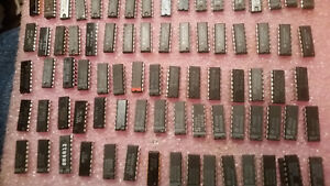Huge Lot Of Vintage Nos Integrated Circuits Ic s160 Pcs