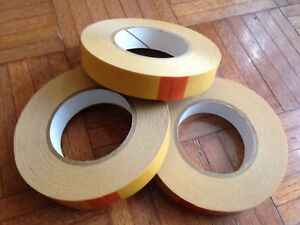 Lot Of 3 Three Dc 4420 Double Sided D c Pvc Tape 1 Inch X 36 Yards