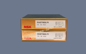 Nsk 7014ctynsulp4 Abec 7 Super Precision Spindle Bearings Matched Set Of Two