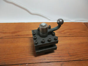 Turret Style Indexable Tool Post Southbend Clausing Craftsman Metal Lathe