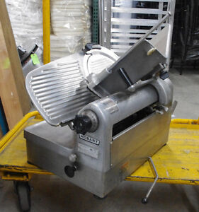 Hobart 1712e Automatic 2 speed Or Manual 12 Deli Meat Cheese Food Slicer