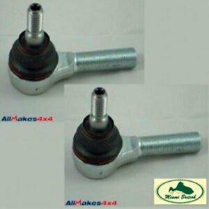 Land Rover Ball Joint Tie Rod End Set X2 Discovery 2 Ii Range P38 Qfs000010 Allm