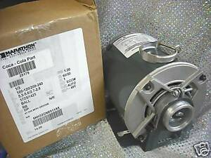 Procon Pump Motor Soda Carbonation Circulating Clamp 115 Or 230 Volts 1 3 Hp